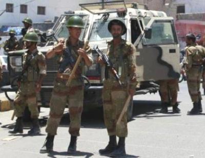الأمن يعتقلو قناصة عناصر الأحمر اشتباك